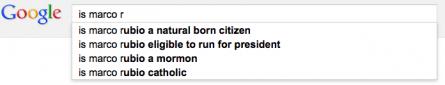 Google Rubio search