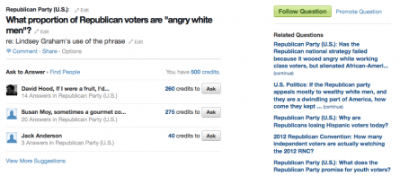 Quora has tough questions for the GOP