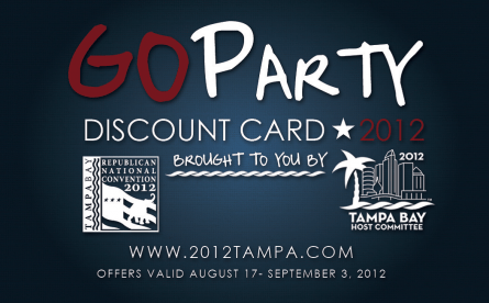 GOParty Discount Card