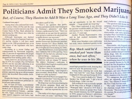 Reefer Madness, Cont.