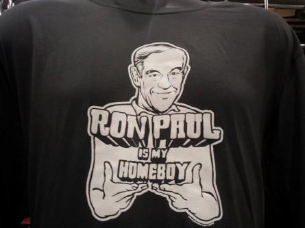 Ron Paul t-shirt at PAUL Fest