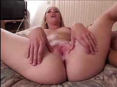 Part 2 of 2 Kaylee bigass blonde likes anal and creampie Anal blondes cream pie