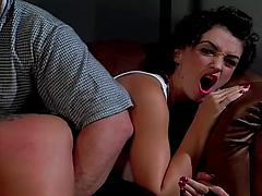 Naughty Coral Gets Bent Over And Spanked Ass bdsm spanking