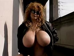 Naked and flashing in public! Exhibitionists flasher public nudity