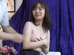Japanese Girl Gets Wet Panties During Sensual Massage Asian massage oiled