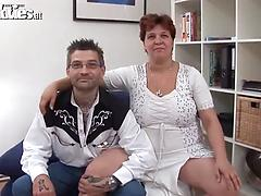 Filthy mature chick Renate Zug gets licked and toyed by a tattooed dude Bbw