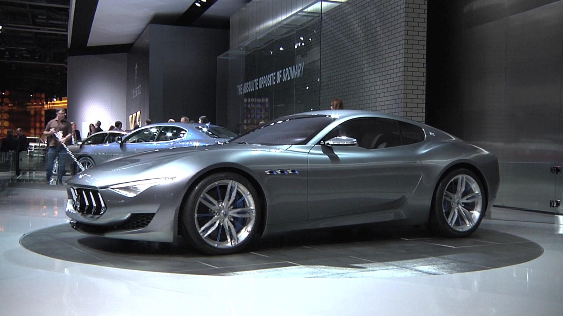 Maserati Plans To Launch Alfieri And GranTurismo By 2018