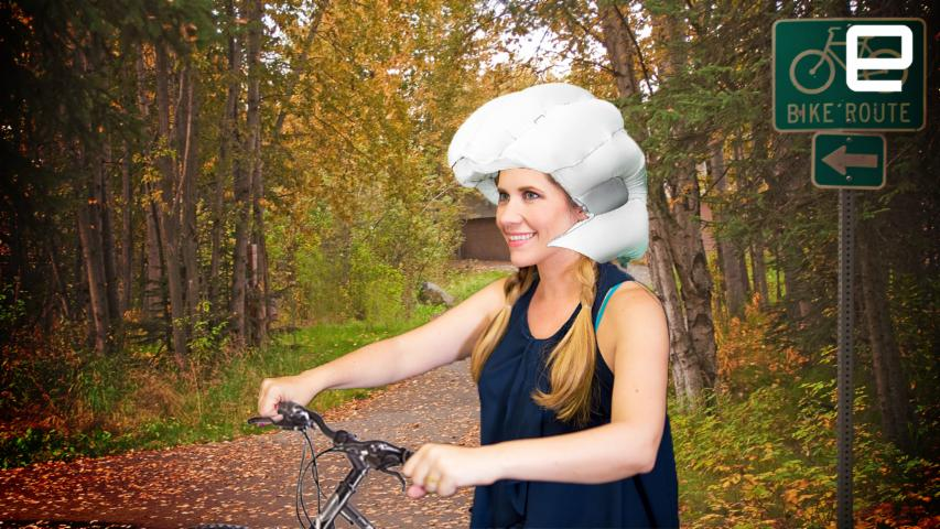 ICYMI Airbag Helmets Might Save Your Noggin Gadget