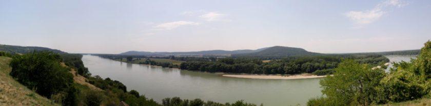 hrad Devín 景觀