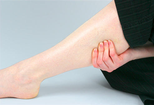 Muscle cramps or twitching