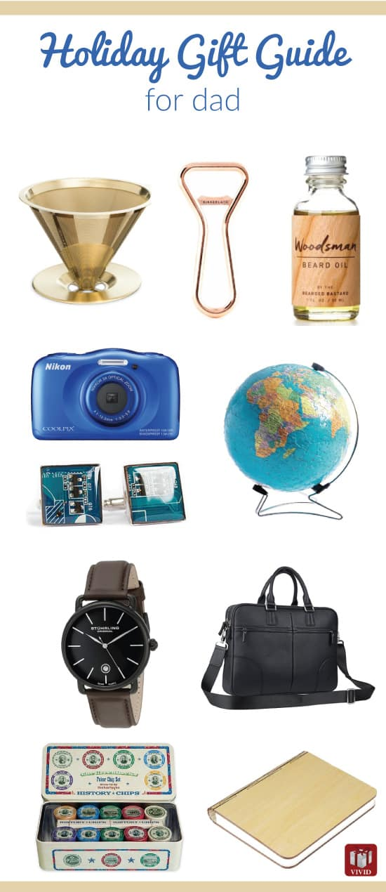 Christmas Holiday Gift Guide For Dad Vivids Gift Ideas