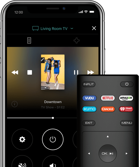 VIZIO remote and SmartCast App