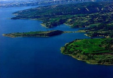 Lake Debar, Macedonia.