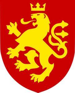 Coat of arms proposed in 1992, by Miroslav Grcev.