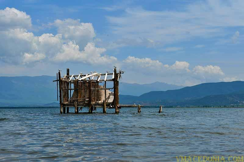 Lake Dojran, Macedonia.