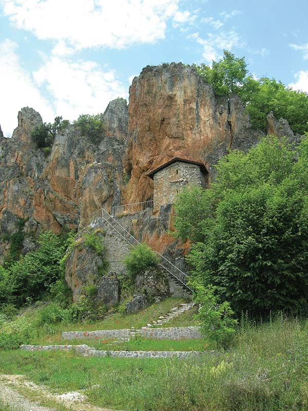 St. Athanasius cave church