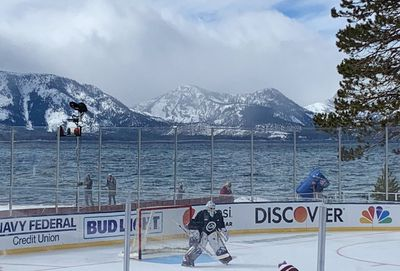 Colorado Avalanche in Lake Tahoe