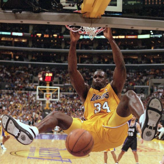 Image result for shaquille o'neal dominate