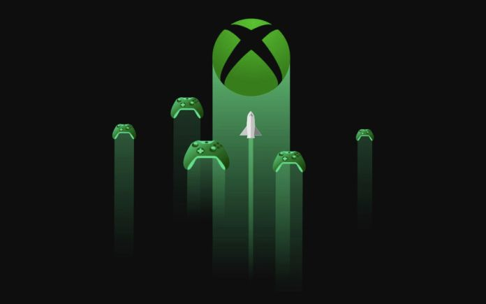 artwork for Project xCloud featuring the Xbox logo and Xbox controllers