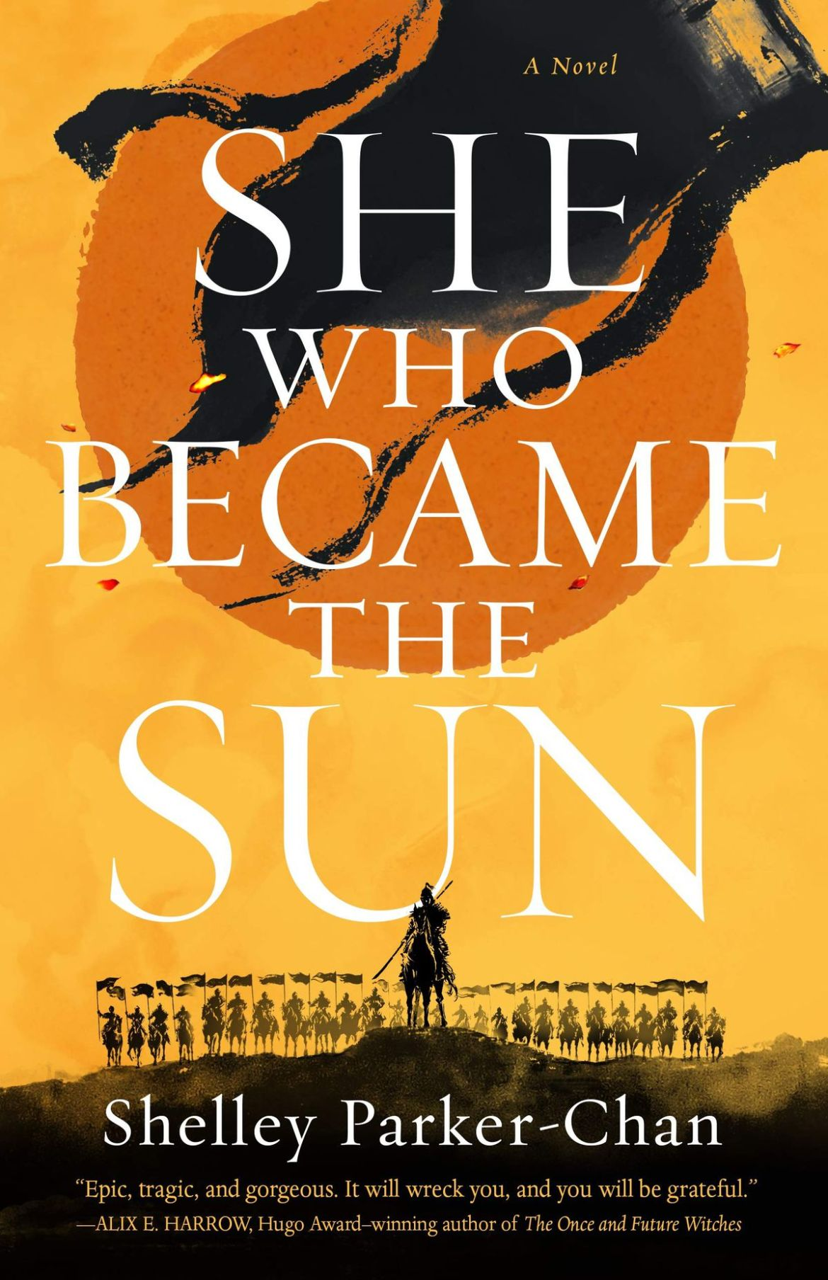 She Who Became the Sun by Shelley Parker-Chan cover