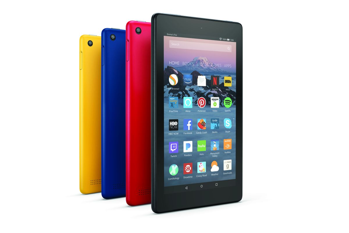 Amazon Refreshes Fire Tablets And Adds New Fire HD 8 Kids