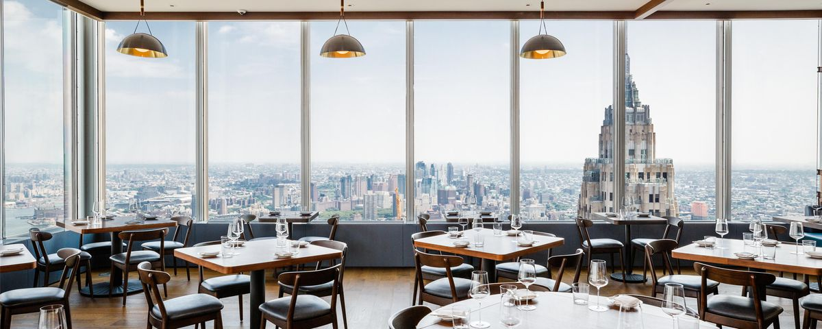 Danny Meyers Manhatta Opens In FiDi With Striking Views Eater NY