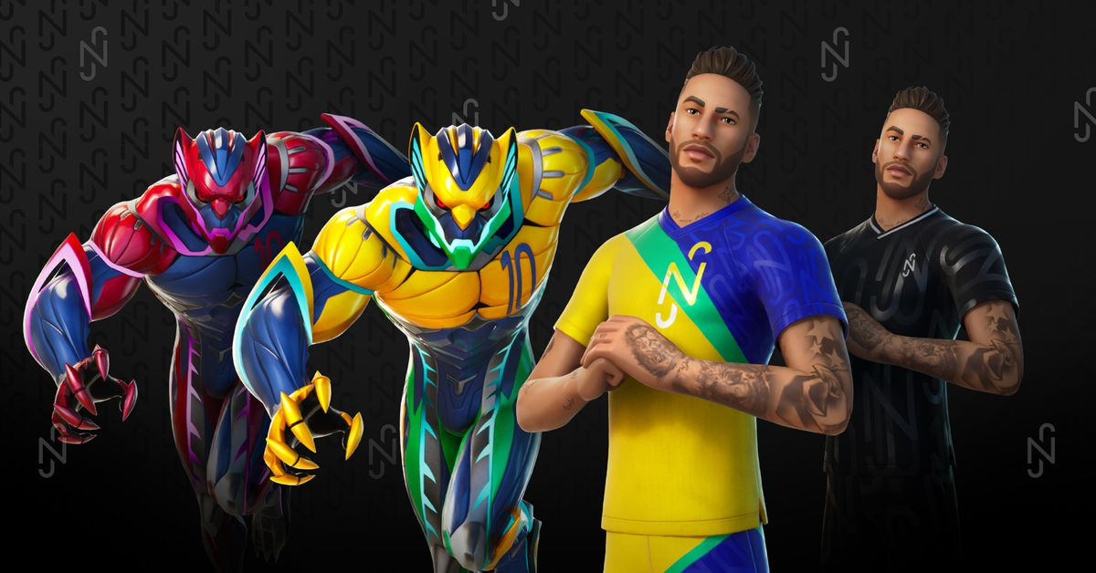 Here's what Neymar looks like in Fortnite