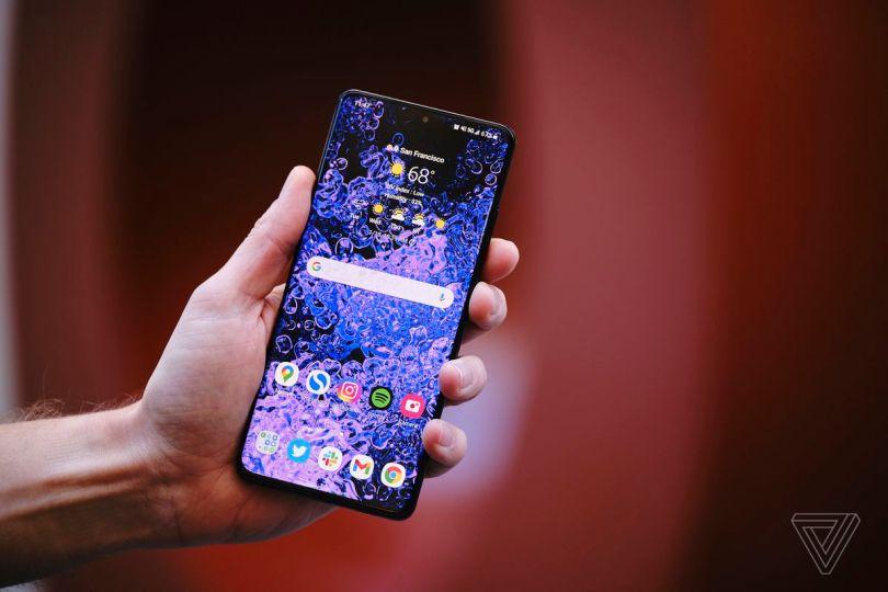 The Galaxy S21 Ultra