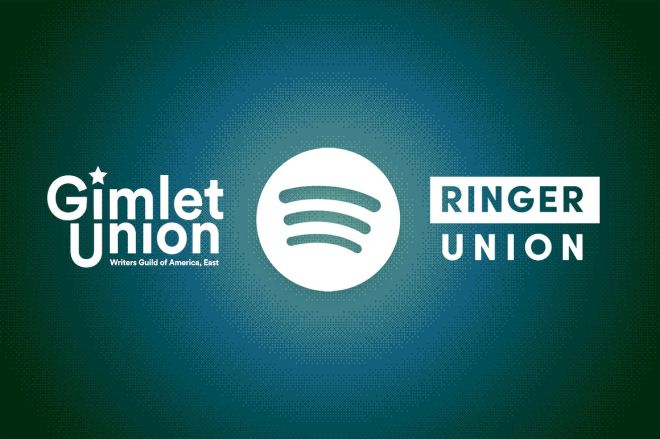 VRG_ILLO_1777_Gimlet_Ringer_Spotify.0 Gimlet and Ringer unions detail their first historic contracts with Spotify | The Verge