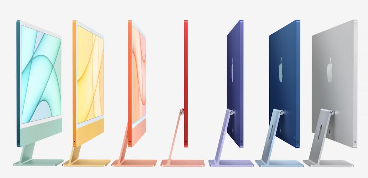 iMac de colores