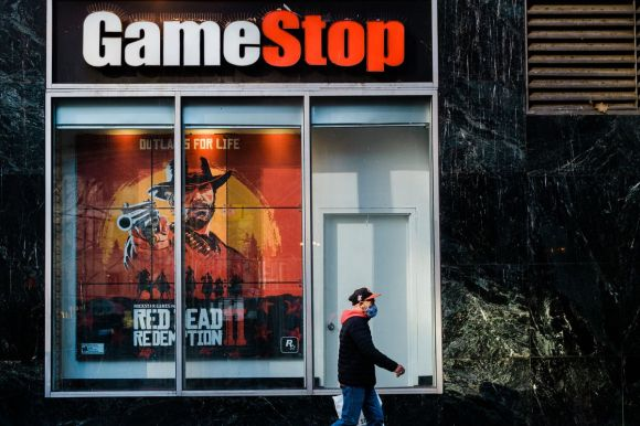 Game Stop stock