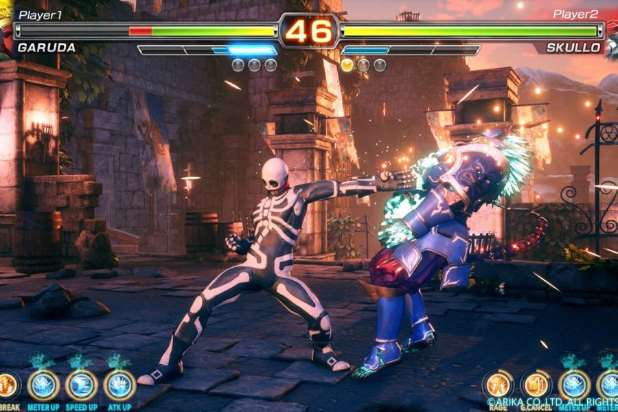 Arika s  mysterious fighting game  has a title and a beta coming to     The story behind Arika s mysterious fighting game