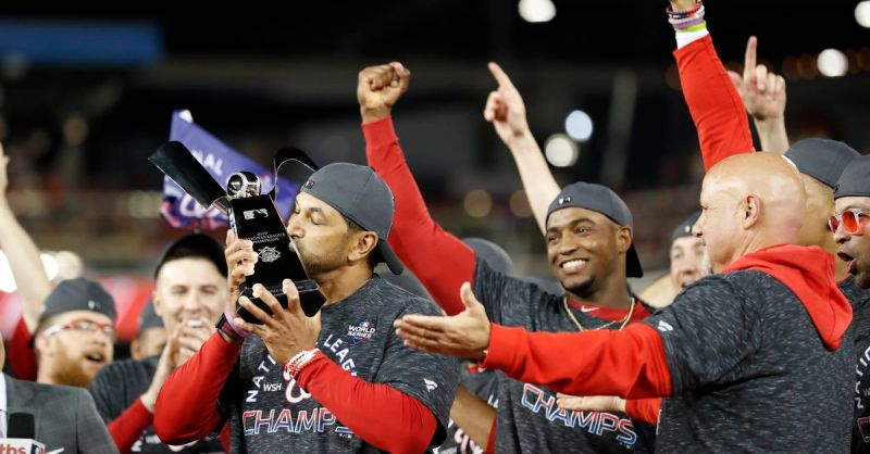 Seemingly down for the count, the Washington Nationals lived up to their Stay In The Fight motto and then some