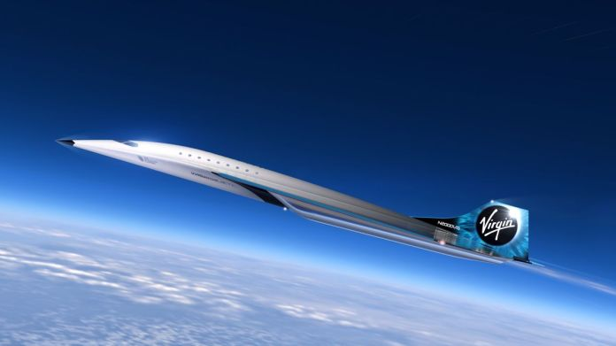 Virgin Galactic Unveils Mach 3 Aircraft Design for High Speed Travel Image 2