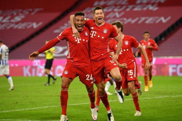 Match awards from Bayern's thrilling 4:3 win against Hertha Berlin -  Bavarian Football Works