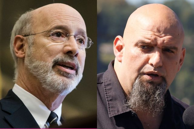 Gov. Tom Wolf and John Fetterman are now on a ticket to keep Pennsylvania's governors mansion blue.