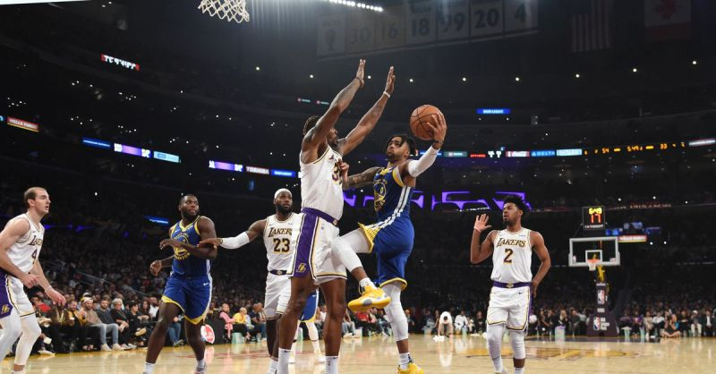 Warriors run over by Lakers again, 93-126