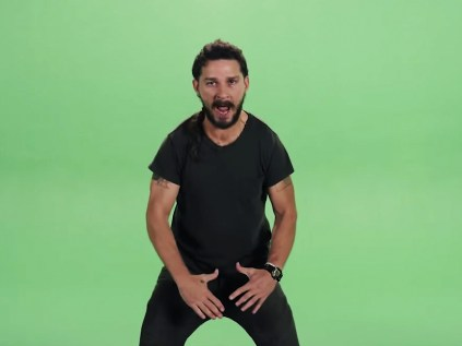 Shia LaBeouf's extremely loud motivational speech, explained - Vox