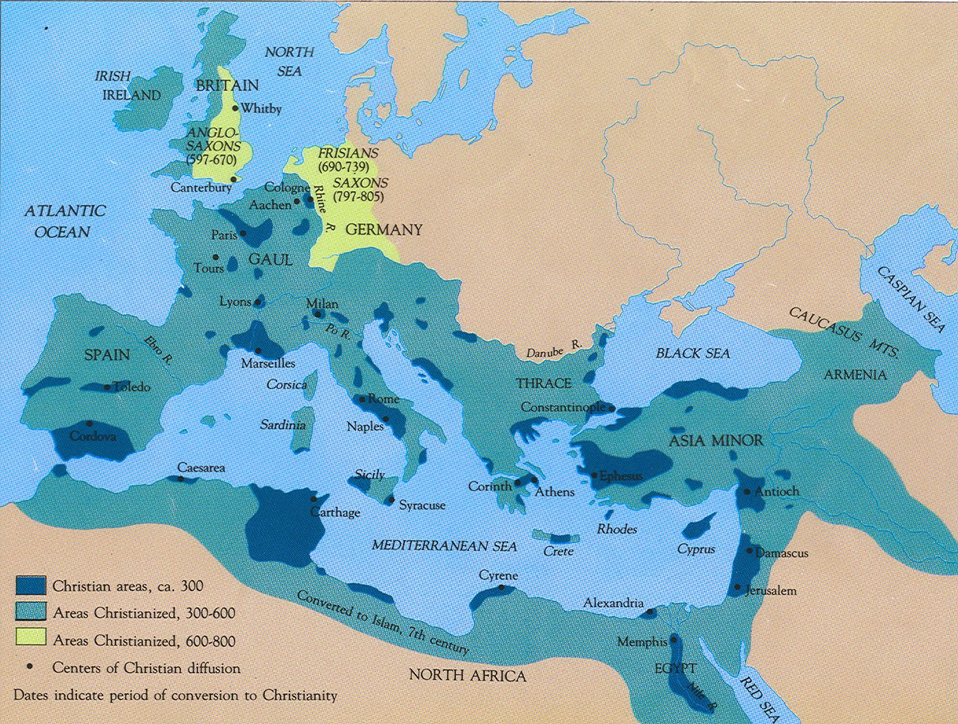 Map Of Roman Empire With Modern Countries