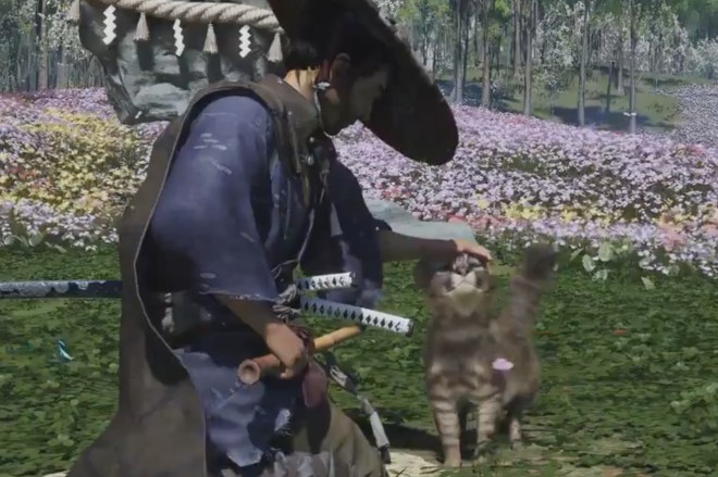 Screen_Shot_2021_07_21_at_4.06.42_PM.0 Ghost of Tsushima's dark new expansion has fuzzy cats to pet | The Verge