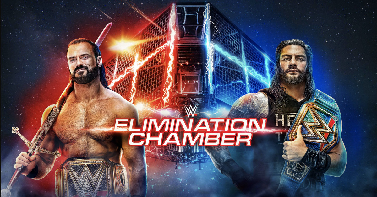 WWE Elimination Chamber 2021 results, live streaming match coverage