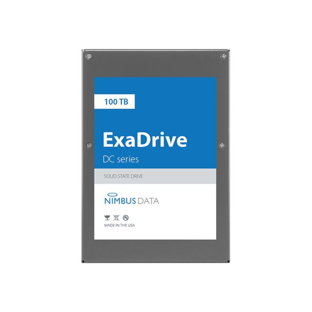 Exadrive Nimbus Data unveils its 100TB SSD, the ExaDrive   The SSD has also outplayed Samsungs 30TB SSD