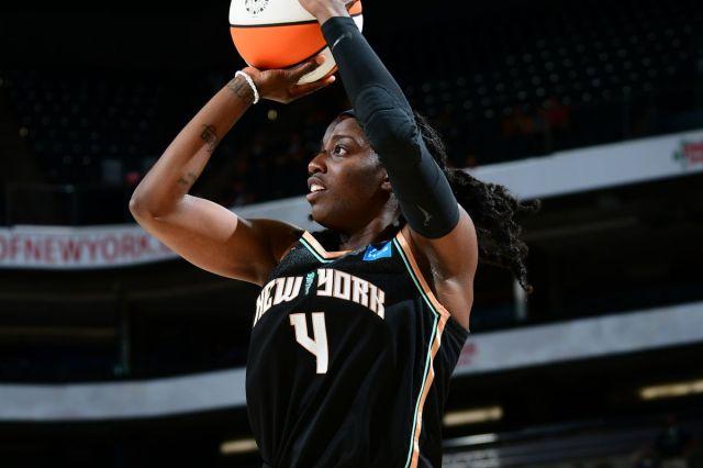 WNBA Recaps: Jazmine Jones, New York Liberty defeat Phoenix Mercury - Swish  Appeal