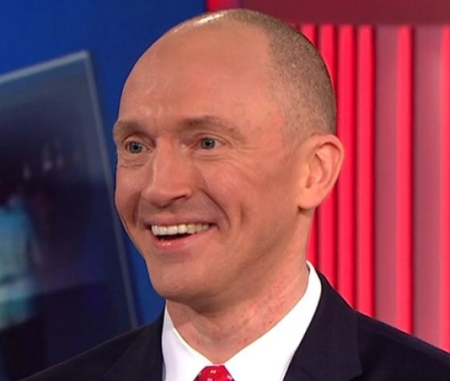 Who On Earth Is Carter Page Phd