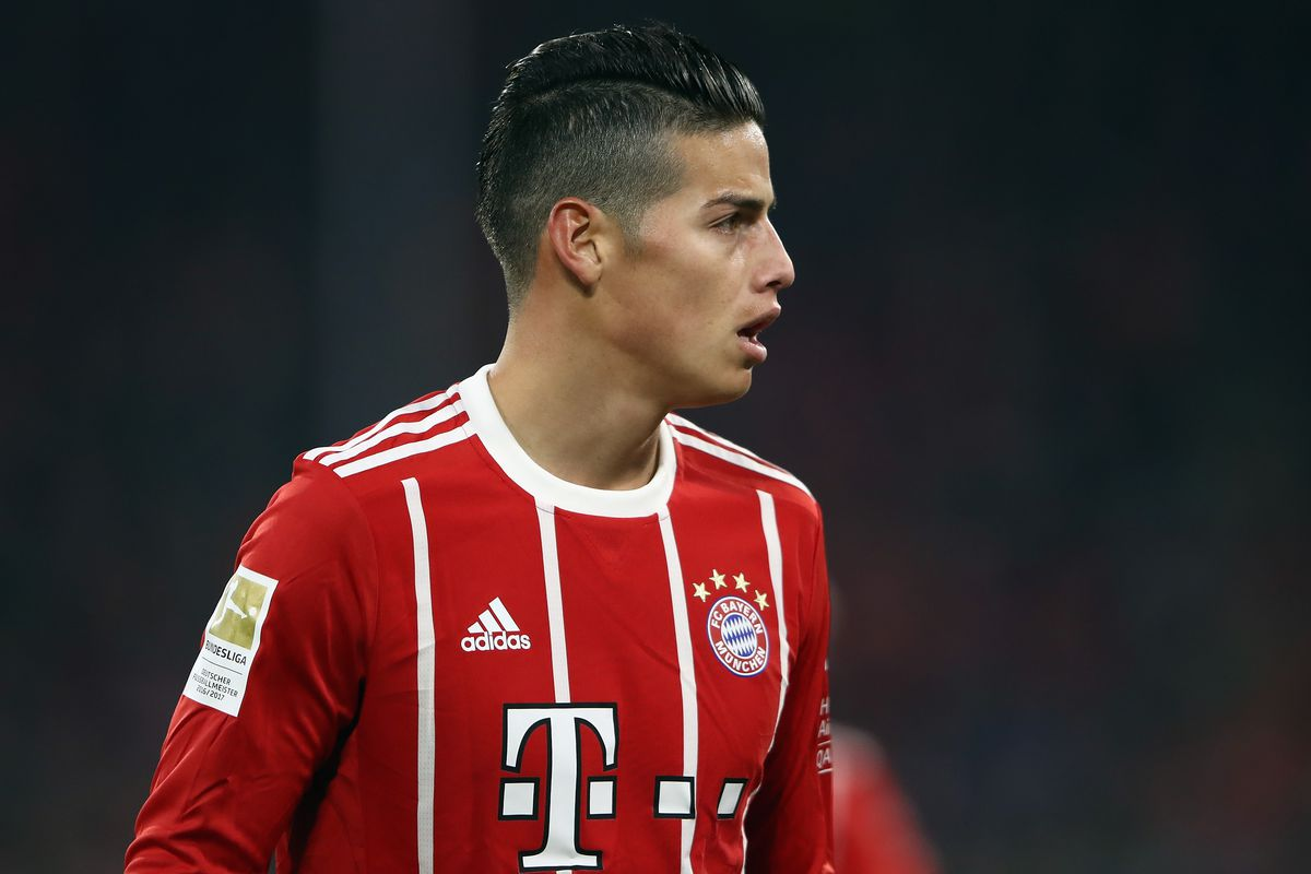 James Rodriguez Insists Hes Enjoying Life At Bayern