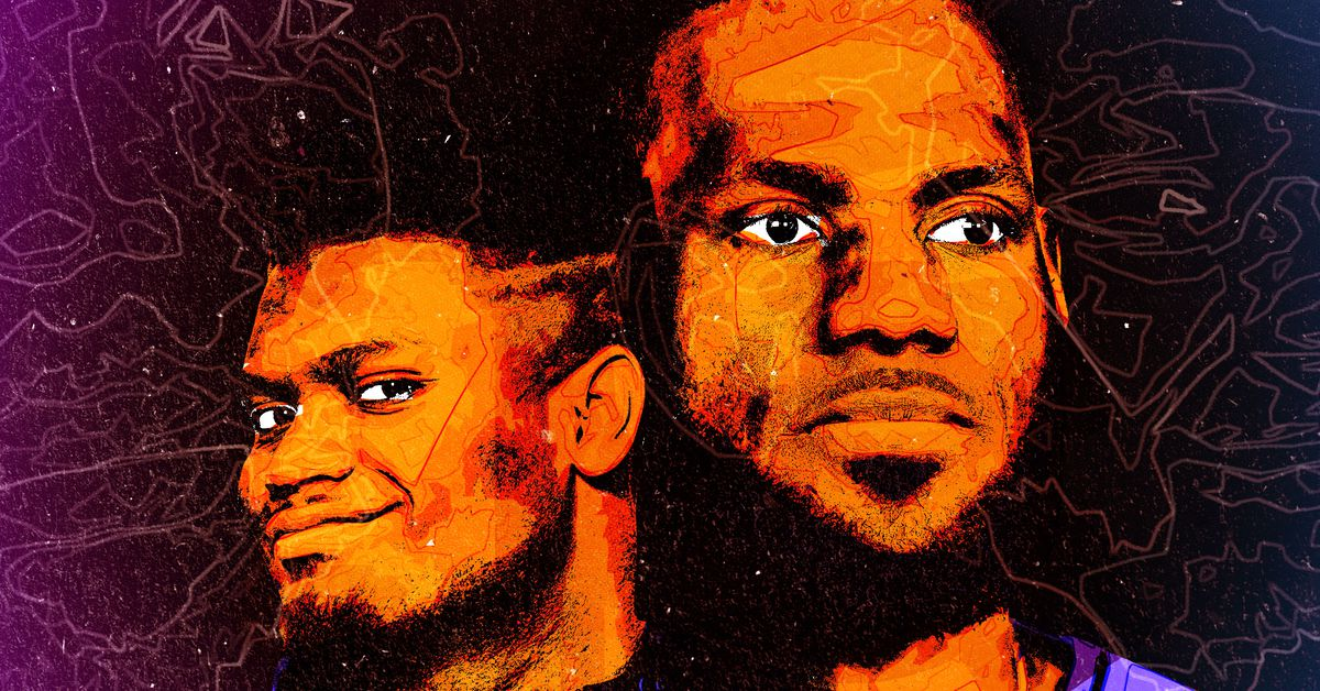 LeBron and Sion represent the past, present and future of the NBA