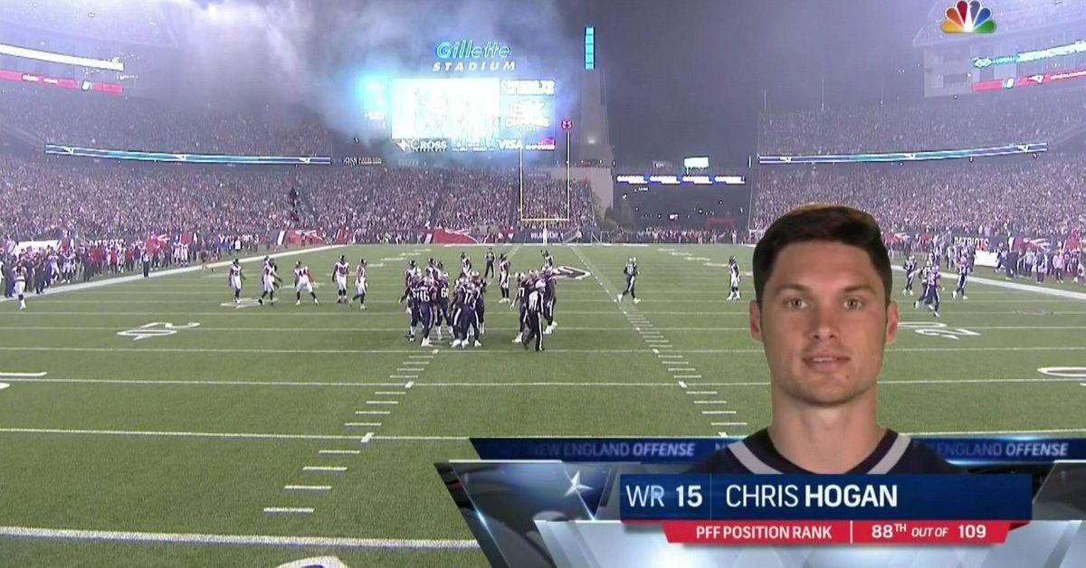 Falcons Vs Patriots Chris Hogan Reps Penn State