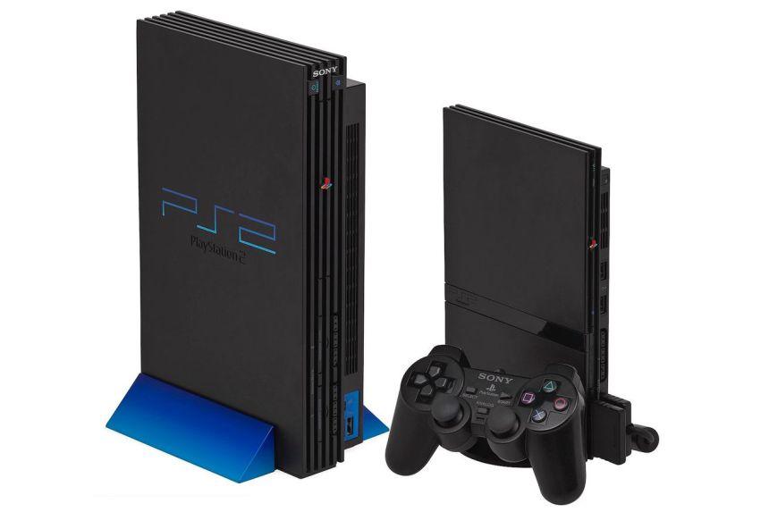 <em>The original PlayStation 2 and its slim revision.</em>