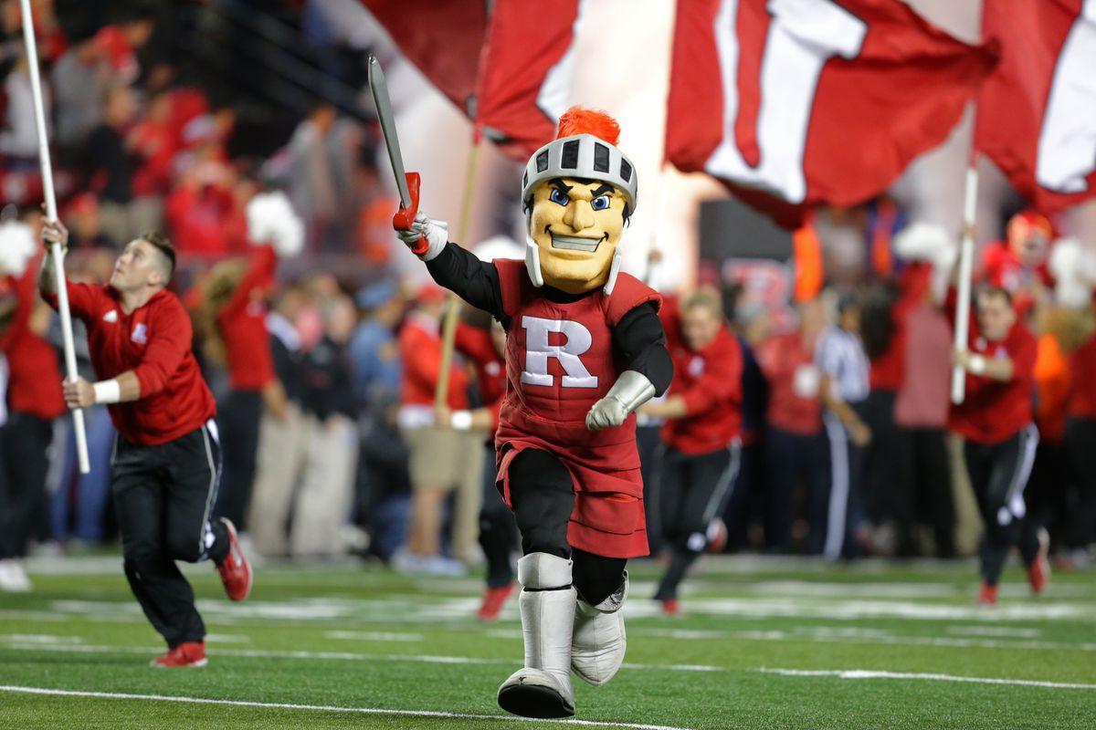 Logo Lacrosse Knights Scarlet Rutgers