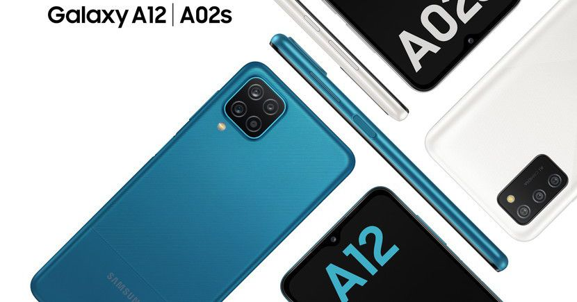 Samsung announces the A12 and A02S, two new entry-level phones for 2021